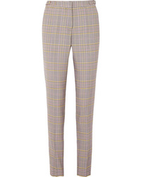 Gabriela Hearst Lisa Plaid Wool Blend Skinny Pants