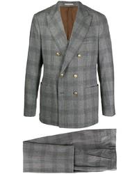 Brunello Cucinelli Check Two Piece Suit