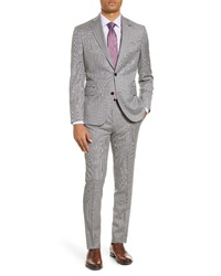 Ted Baker London Roger Fit Plaid Wool Suit
