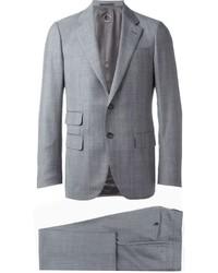Caruso Two Piece Plaid Suit