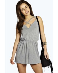 Grey playsuit original 6775305