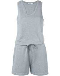Alexander Wang T By Sleeveless Playsuit