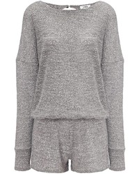 LnA Heather Grey Guadeloupe Playsuit
