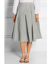 Tibi Riko Eyelet Cotton Midi Skirt | Where to buy & how to wear