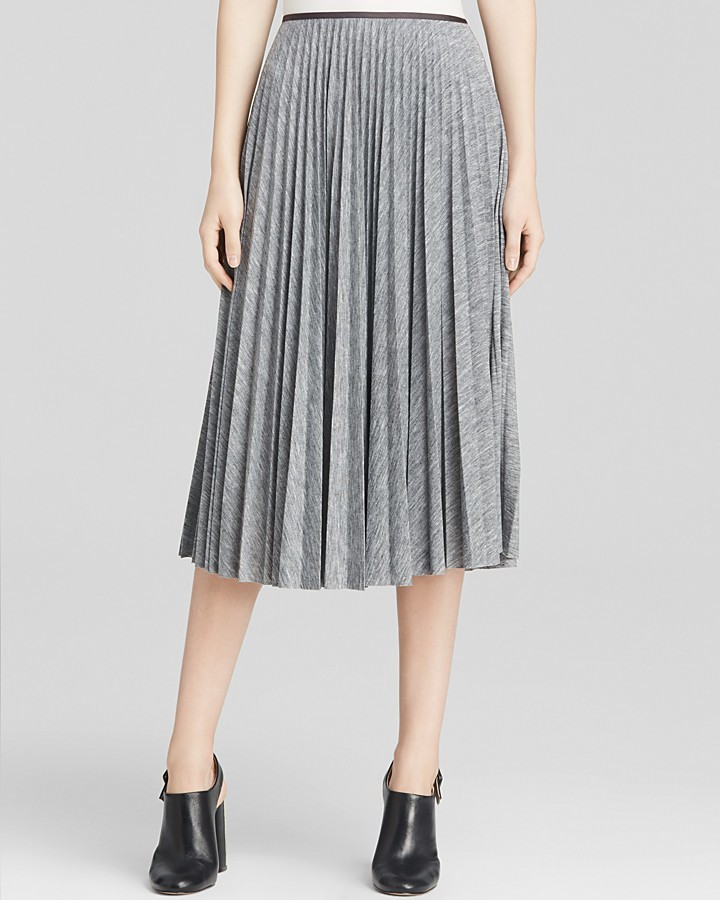 4db955ce67a ... Midi Skirts Theory Skirt Zeyn Pleated Jersey ...