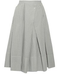 grey pleated midi skirt love21 21 pleated midi skirt