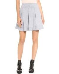 Pleated mini skirt medium 65079