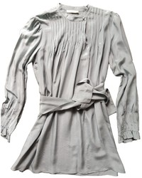 Grey Pleated Tunic