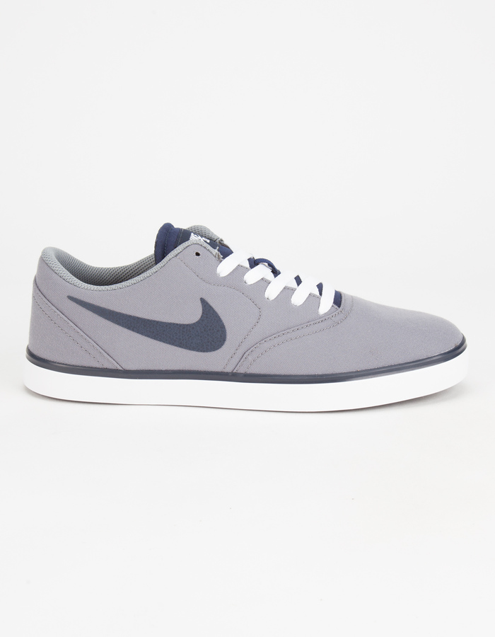 Nike Sb Check Canvas Shoes, $64 | Tilly