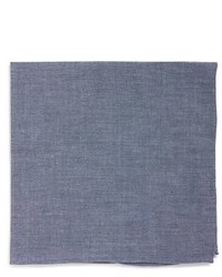 Chambray cotton pocket square medium 436522