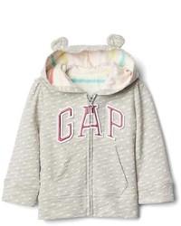 Gap Dotty Logo Bear Zip Hoodie