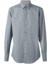 Polka dot print shirt medium 229580