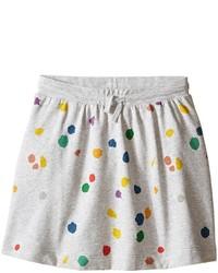Stella McCartney Kids Crystal Polka Dot Jersey Knit Skirt