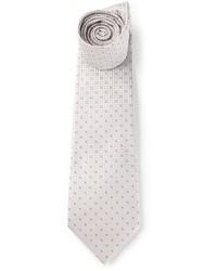 Grey Polka Dot Tie