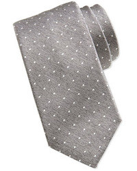 Hugo Boss Boss Swiss Dot Tie Light Graywhite