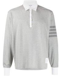 Thom Browne 4 Bar Rugby Polo Shirt