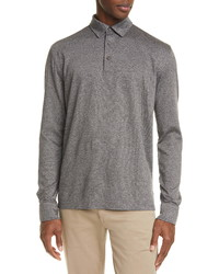 Ermenegildo Zegna Classic Long Sleeve Polo Shirt
