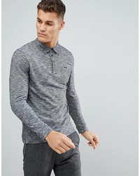 Tom Tailor Long Sleeve Polo In Twisted Yarn