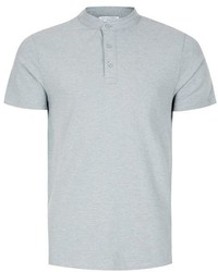 Selected Homme Gray Polo Shirt