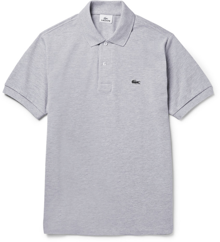 Burgundy Lacoste Polo Shirt