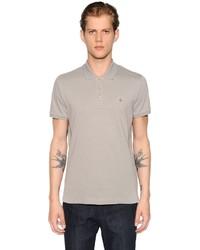 Moncler Logo Detail Cotton Piqu Polo Shirt