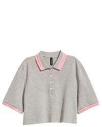 H&M Short Piqu Polo Shirt