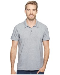 Agave Denim Short Sleeve Polo Italian Pique In Heather Clothing