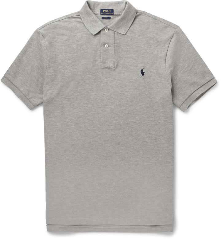 buy cheap 66d9e 2c91a $85, Polo Ralph Lauren Slim Fit Cotton Piqu Polo Shirt