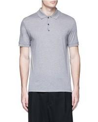 Lanvin Slim Fit Reverse Seam Polo Shirt