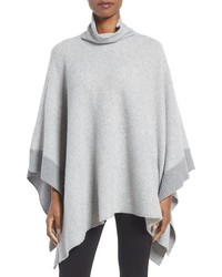 Cashmere lambswool poncho medium 1125465