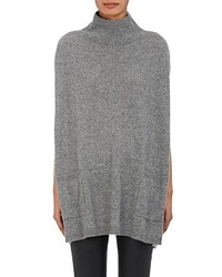 Barneys New York Cashmere Mock Turtleneck Poncho