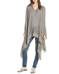 Rag & Bone Corded Stripe Poncho