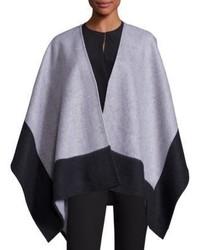Rag & Bone Double Faced Merino Wool Reversible Poncho