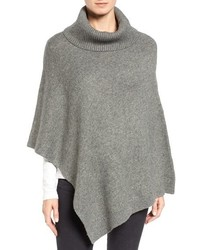 Halogen cowl neck poncho medium 844852