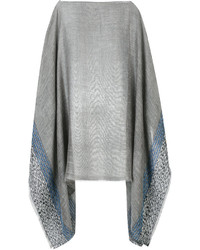 Rag & Bone Patterned Poncho