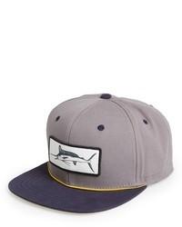 Grey Print Baseball Cap