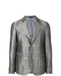 Giorgio Armani Checked Print Jacket