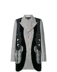 Comme Des Garcons Homme Plus Comme Des Garons Homme Plus Panelled Fitted Jacket