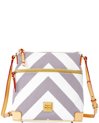 Dooney bourke chevron crossbody medium 167788