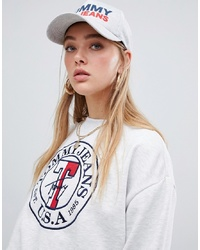 Tommy Jeans Jersey Cap With Flocked Logo