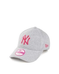 New era caps new era 9forty new york yankees baseball cap grey pink medium 277903