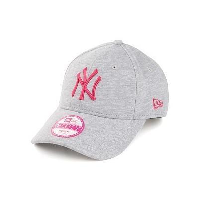 New Era Caps New Era 9forty New York Yankees Baseball Cap Grey Pink ... 2a8b36a55a14