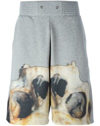 Givenchy Skull Print Sweat Shorts