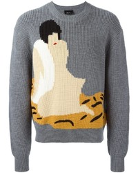 3 1 phillip lim woman intarsia jumper medium 830530