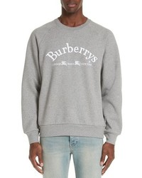 Burberry Battarni City Logo Sweatshirt