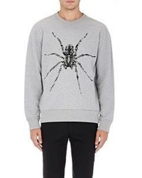 Lanvin Beaded Spider Sweatshirt Grey