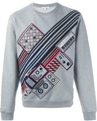 Carven Embroidered Instruts Sweatshirt
