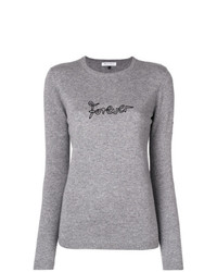 Bella Freud Forever Embroidered Sweater