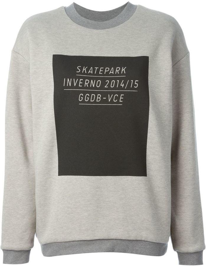 84c7cd3b Golden Goose Deluxe Brand Jen Printed Sweatshirt, $480 | farfetch ...