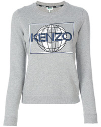 Graphic crew neck jumper medium 4470246